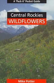 Cover of: Central Rockies Wildflowers
