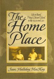 Cover of: The home place