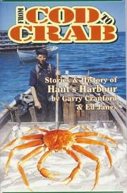 Cover of: From cod to crab