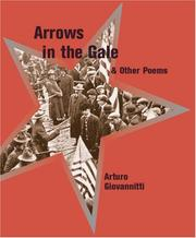 Cover of: Arrows in the gale & other poems