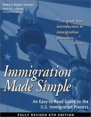 Cover of: Immigration made simple