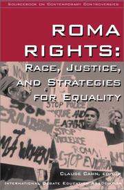 Cover of: Roma Rights