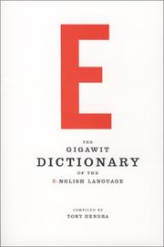 Cover of: The GIGAWIT Dictionary of the E-nglish Language