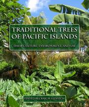 Cover of: Traditional Trees of Pacific Islands | Craig R. Elevitch