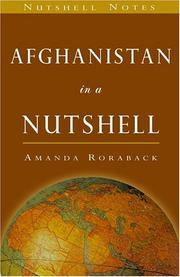 Cover of: Afghanistan in a Nutshell (Nutshell Notes Series) (The World in a Nutshell) | Amanda Roraback