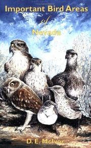 Cover of: Important Bird Areas of Nevada | D. E. McIvor