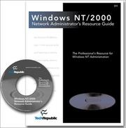 Cover of: Windows NT/2000 Network Administrator