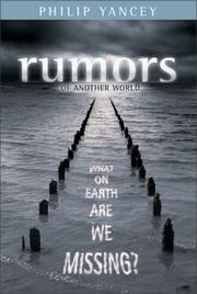 Cover of: Rumors of Another World: What on Earth Are We Missing?