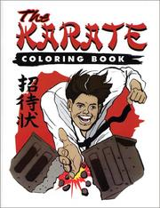 Cover of: The Karate Coloring Book
