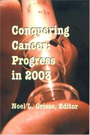 Cover of: Conquering Cancer | Noel L. Griese