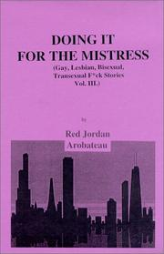 Cover of: Doing It For The Mistress