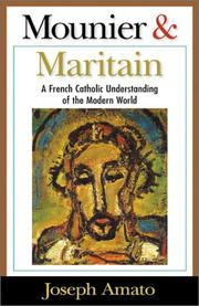 Cover of: Mounier & Maritain