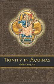 Cover of: Trinity in Aquinas | Gilles Emery