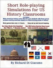 Cover of: Short Role-playing Simulations for US History