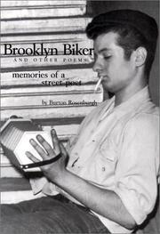 Cover of: Brooklyn Biker and Other Poems  | Burton Rosenburgh