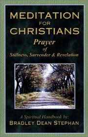 Cover of: Meditation For Christians