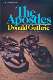 Cover of: Apostles, The | Donald Guthrie