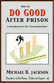 Cover of: How to Do Good After Prison