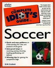 Cover of: The complete idiot's guide to soccer