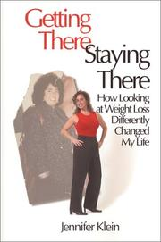 Cover of: Getting there, staying there | Jennifer Klein