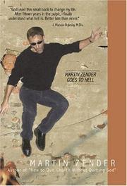 Cover of: Martin Zender Goes to Hell | Martin Zender