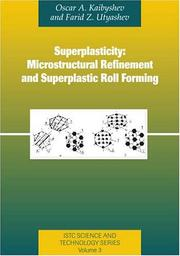 Cover of: Superplasticity