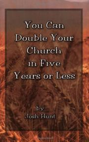 Cover of: You Can Double Your Church in Five Years or Less