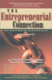 Cover of: The entrepreneurial connection