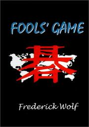Cover of: Fools' Game