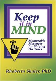 Cover of: Keep It In Mind
