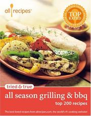 Cover of: Allrecipes tried & true all season grilling & BBQ by