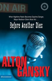 Cover of: Before another dies