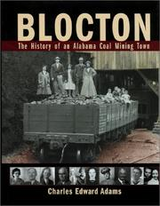 Cover of: Blocton | Charles Edward Adams