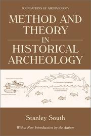 Cover of: Method and theory in historical archeology