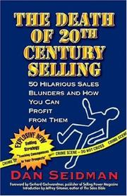 Cover of: The Death of 20th Century Selling