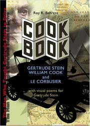 Cover of: COOK BOOK | Roy R. Behrens