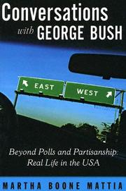 Cover of: Conversations With George Bush