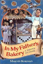 Cover of: In My Father's Bakery