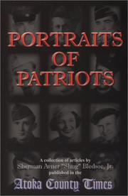 Cover of: Portraits of patriots | Sherman Bledsoe