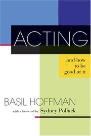 Cover of: Acting