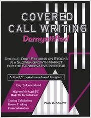 Cover of: Covered Call Writing Demystified