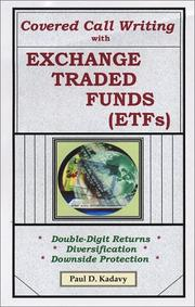 Cover of: Covered Call Writing With Exchange Traded Funds (ETFs)