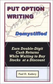 Cover of: Put Option Writing Demystified