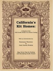 Cover of: California's kit homes