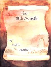 Cover of: The 13th Apostle