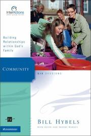 Cover of: Community: Building Relationships Within God's Family (Interactions)