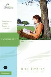 Cover of: Commitment: Developing Deeper Devotion to Christ (Interactions)