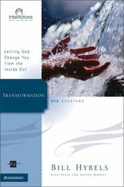 Cover of: Transformation: Letting God Change You from the Inside Out (Interactions)