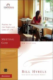 Cover of: Meeting God: Psalms for the Highs and Lows of Life (Interactions)