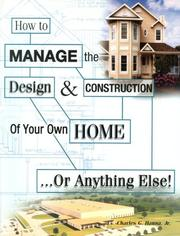 How To Manage The Design Construction Of Your Own Home